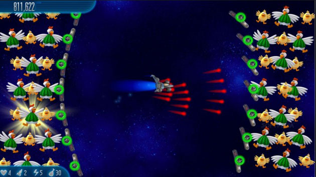 Download Chicken Invaders 5 Cluck of The Dark Side