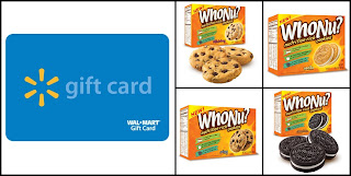 WhoNu Cookies and WalMart Gift Card Giveaway