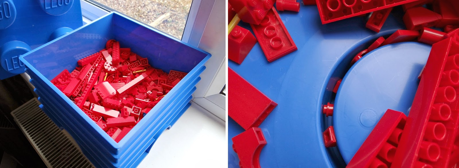 LEGO Storage Bricks, Limited Edition LEGO Storage, Giant LEGO Bricks