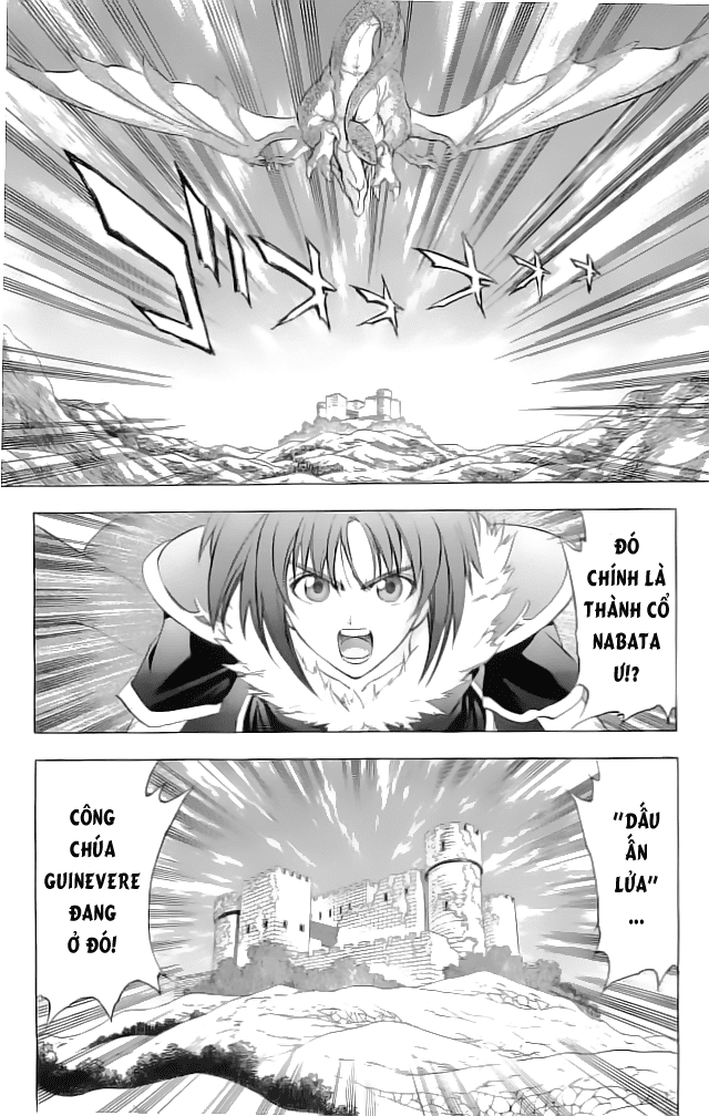 Fire Emblem-Hasha no Tsurugi chap 21 - Trang 10