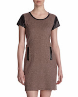 rFaux leather trend, faux leather dress, neiman marcus faux leather dress, fall style, jewels with style