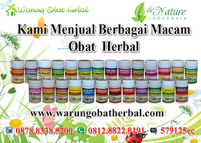 Produk Obat Herbal De Nature Indonesia