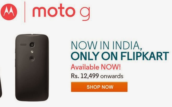 Motorola Moto G Launched In India Starting At Rs.12,499
