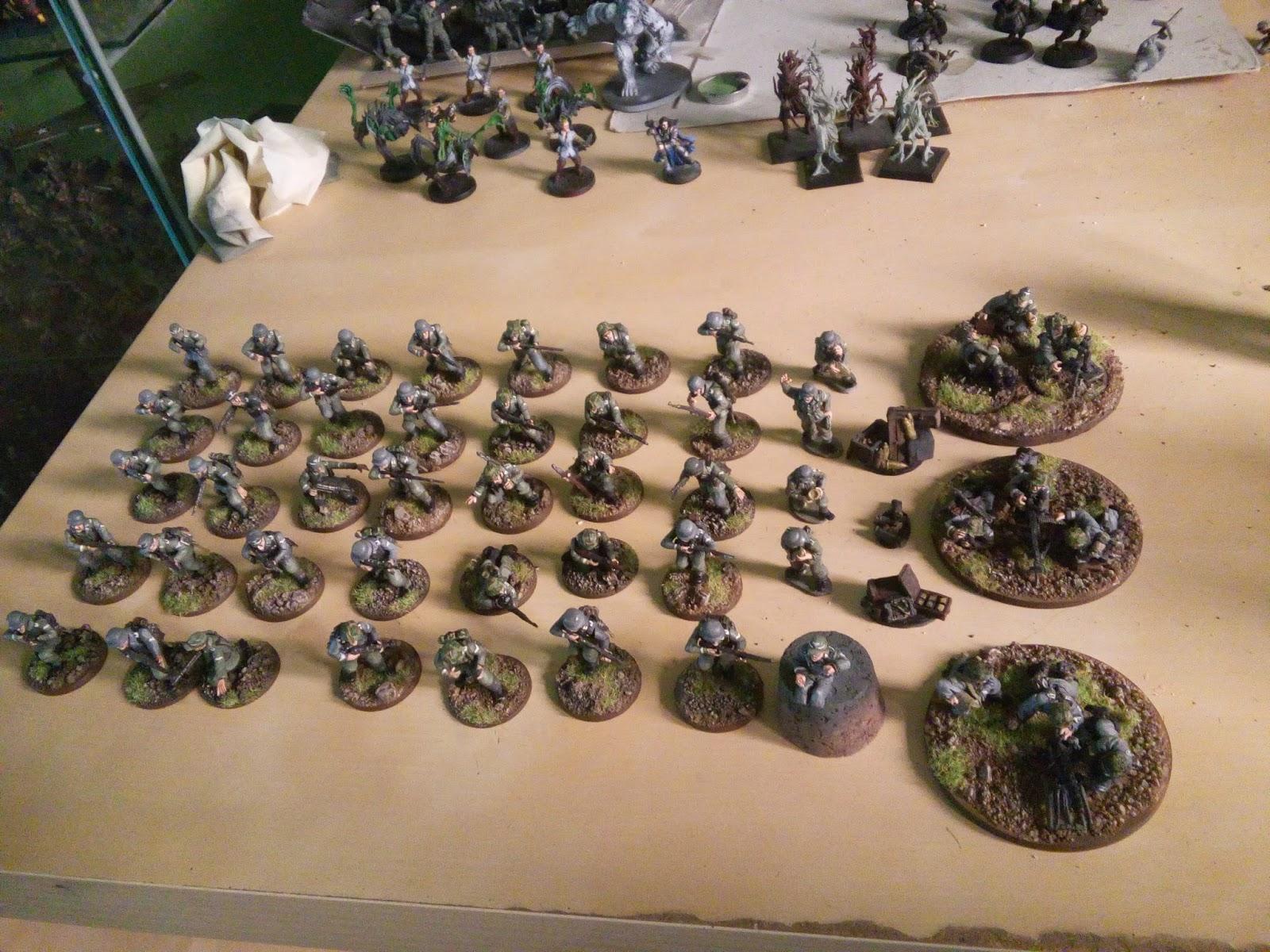 Eclectic aplumb m s trabajo como pintor mercenario en for Gears of war juego de mesa