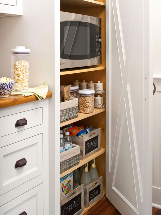 Beauty 4 ashes inspiration files a small organized home Small kitchen cabinet solutions