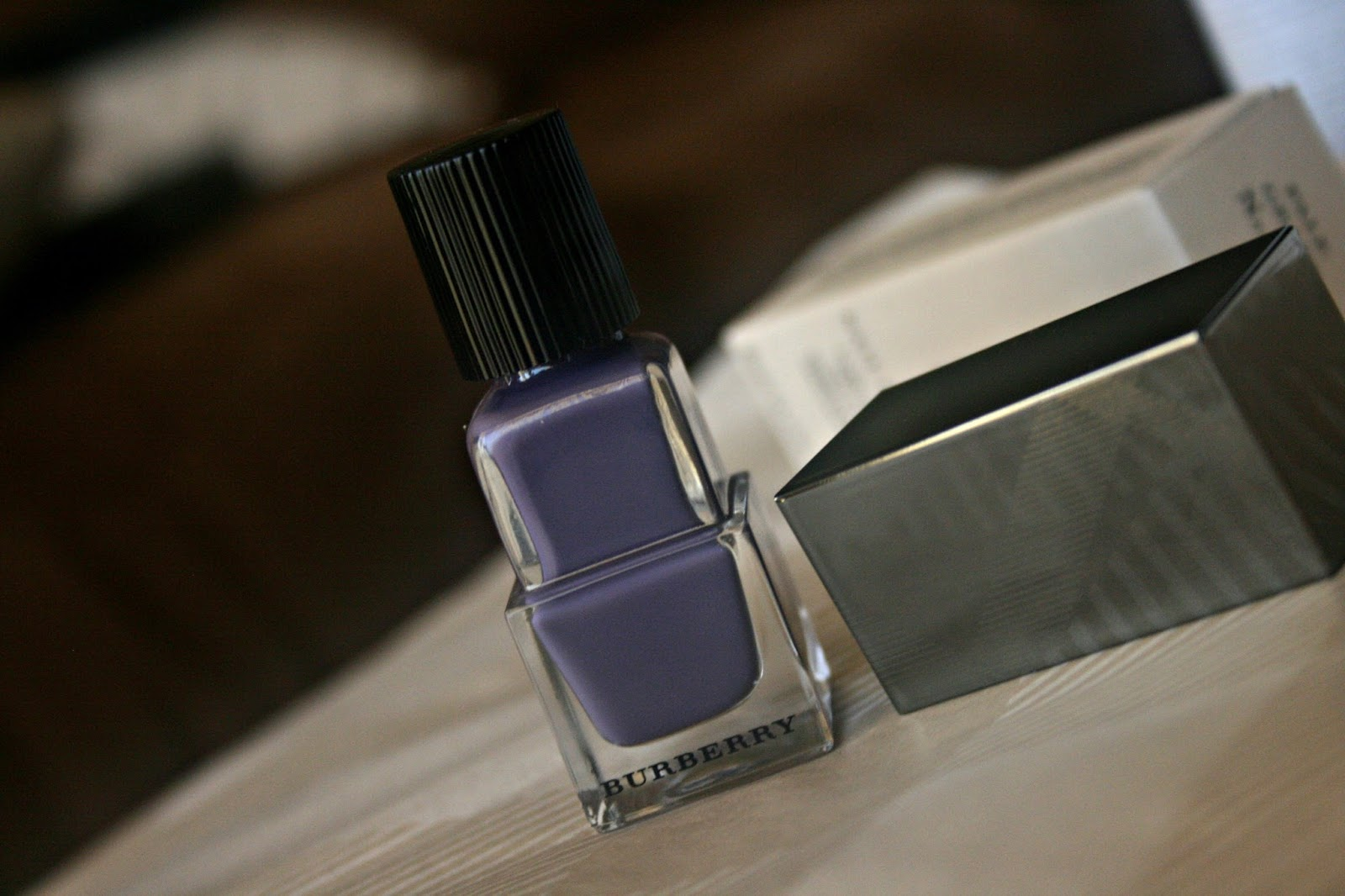 Burberry Beauty Nail Polish in Pale Grape No. 410 Review, Photos & Swatches