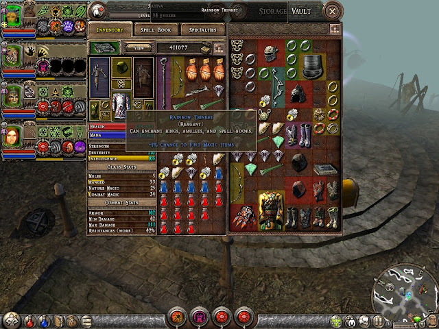 Dungeon Siege 2 - Reagents Description