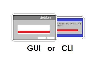 Install Debian dengan GUI dan CLI, Mana yang Lebih Baik?