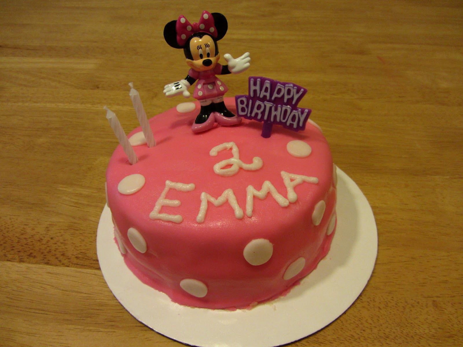 The Fairy Cake Mother Minnie Mouse Birthday For My Daughter