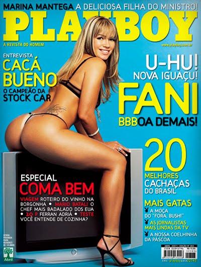 Fani Pacheco pelada