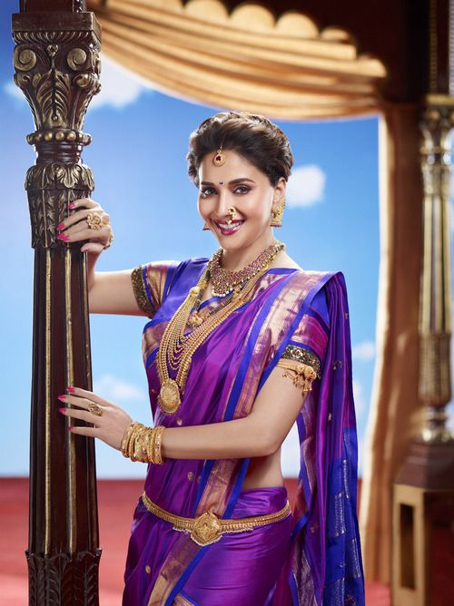 Madhuri Dixit Marathi Look Photo