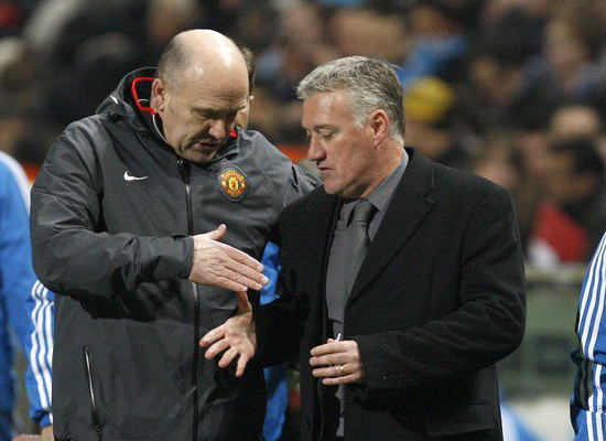 Champions League,Mike Phelan Manchester United assistant manager,Olympique Marseille coach Didier Deschamps