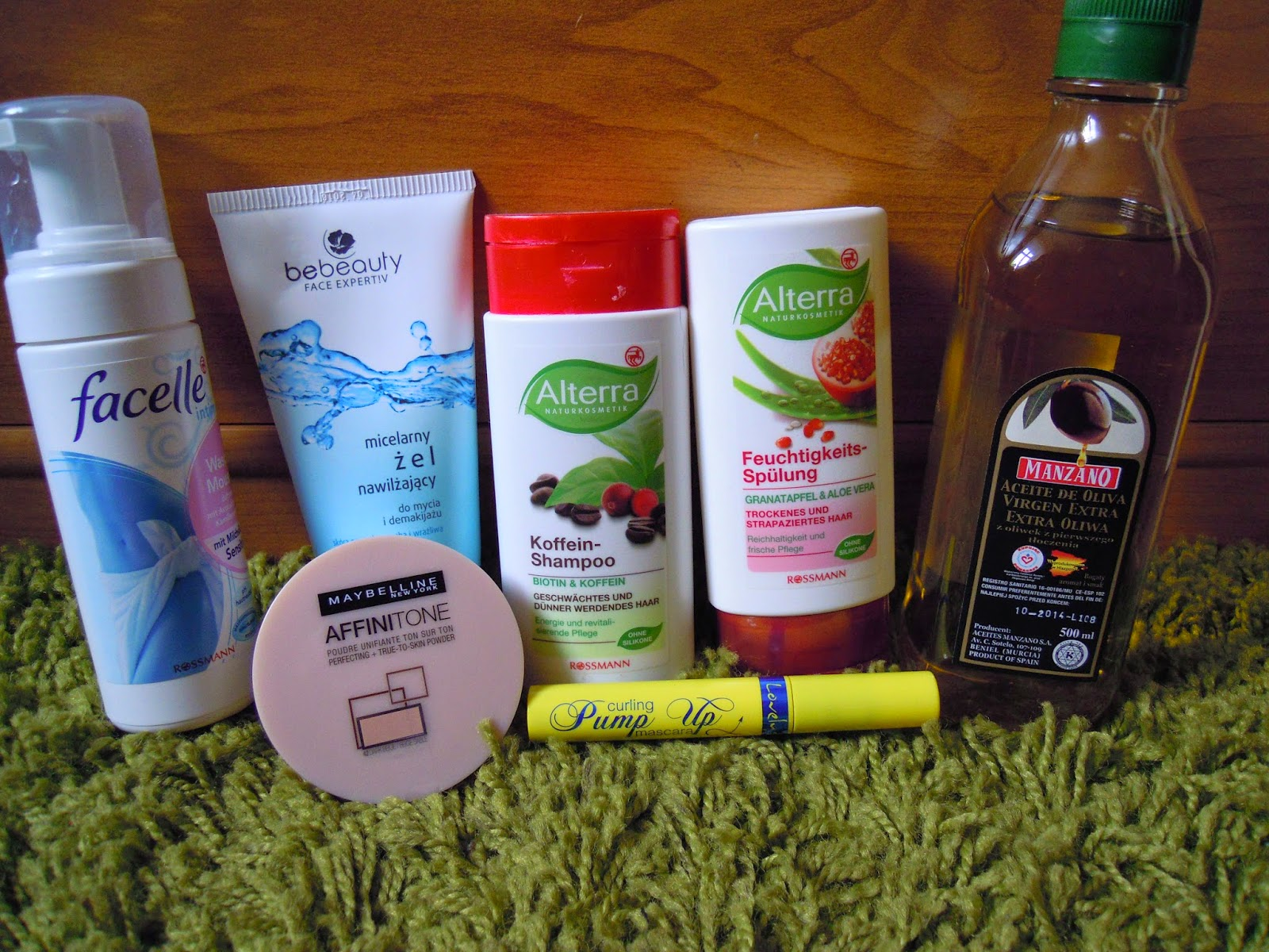 Zakupy kosmetyczne KWIECIEŃ 2014 i zakupy z -49% w Rossmanie, bo nie zaszalałam !