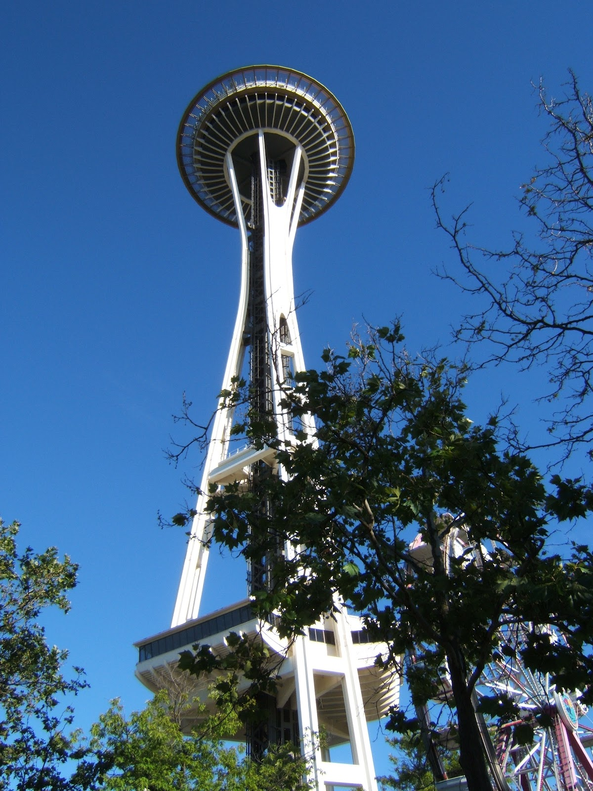 the happy travel bug seattle space needle