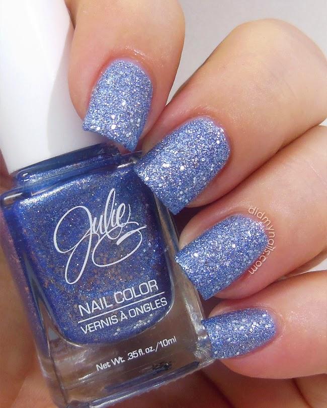 Did My Nails: Julie G Blueberry Fizz