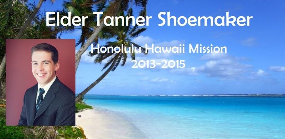 Elder Tanner Shoemaker
