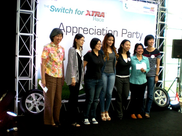 petronas switch xtra race