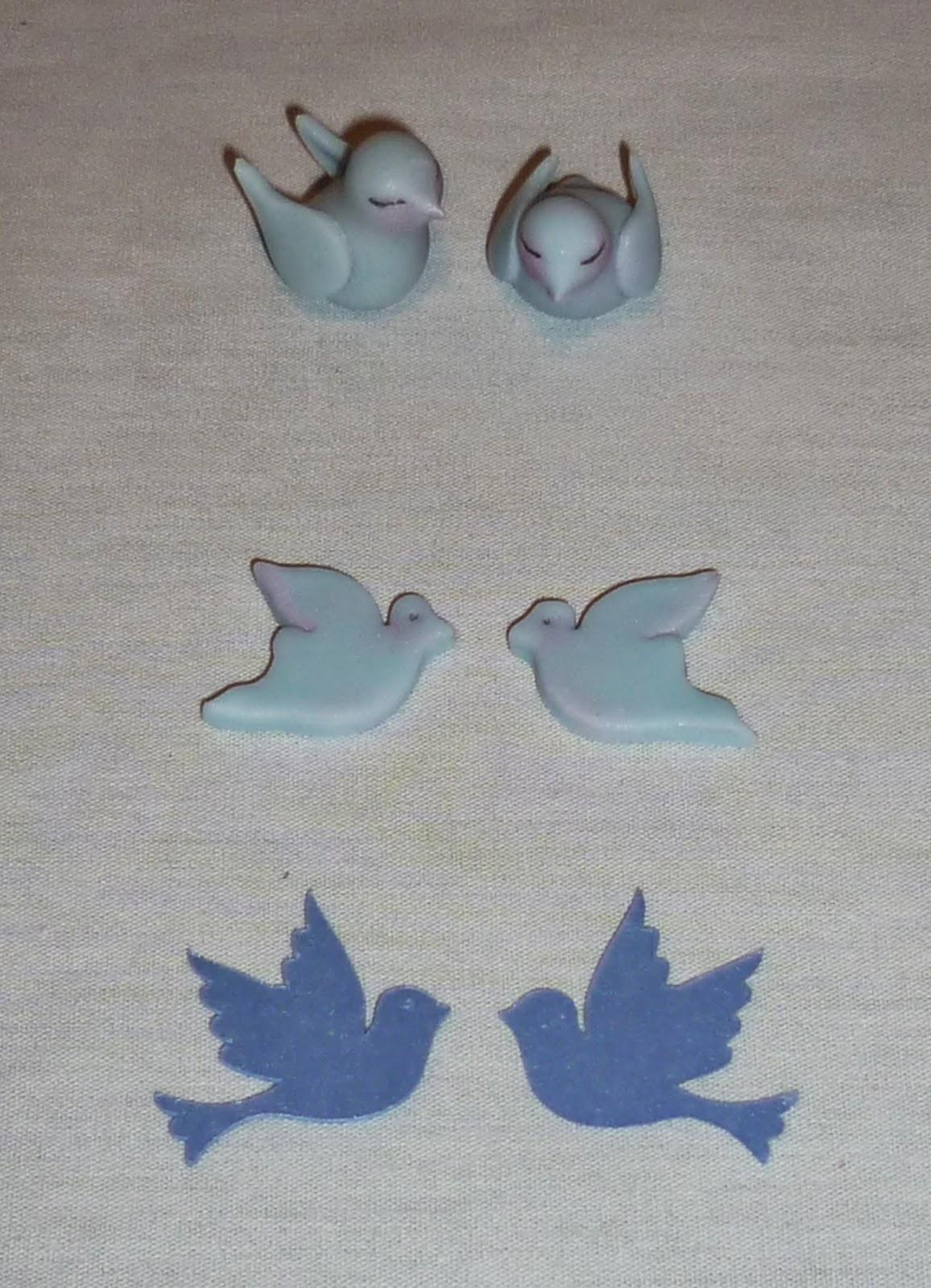 Minimandy. Apliques. Porcelana Fría. Papel. Palomitas. Bautismo.