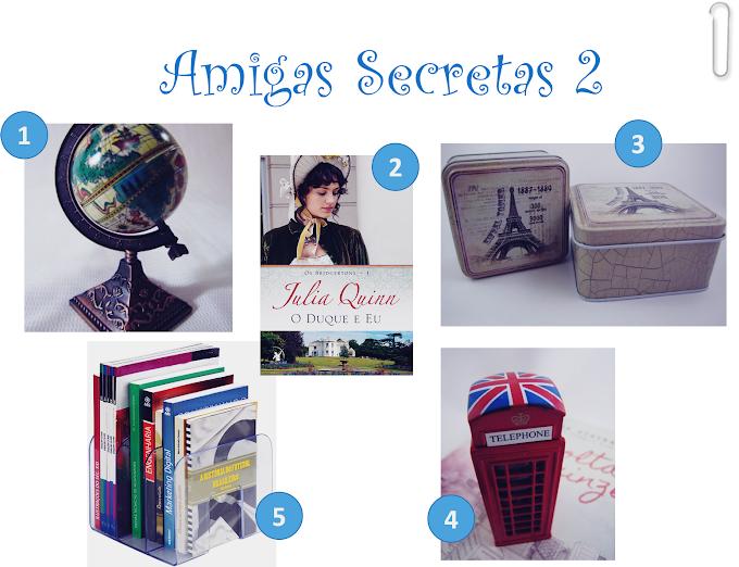 Amigas Secretas 2 - Lista de desejos