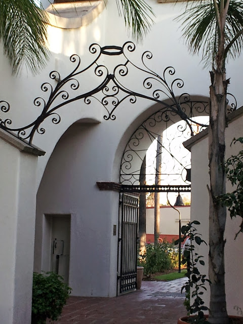 Mission Style Garden at the Bowers Museum in Santa Ana, CA