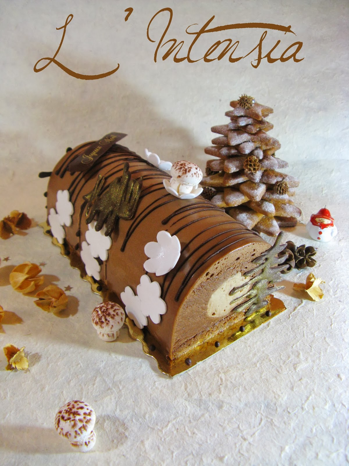 J 39 en reprendrai bien un bout b che no l 2013 l 39 intensia for Pinterest cuisine noel