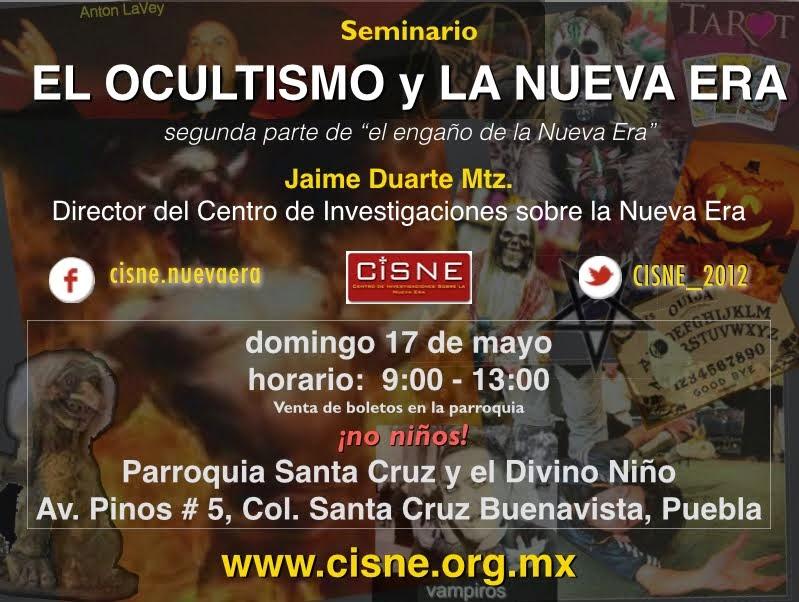 Seminario sobre Ocultismo Puebla