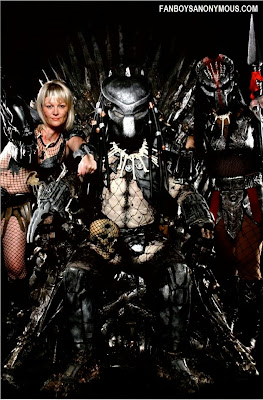 Karen Bailey Lady Punisher cosplay as Predator Huntress