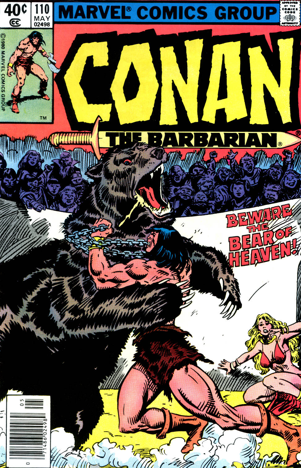 Conan the Barbarian (1970) Issue #110 #122 - English 1