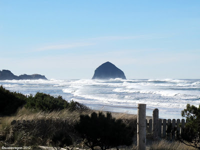 Pacific City Haystack Rock