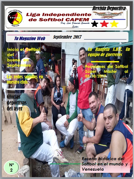Revista Softbol CAPEM