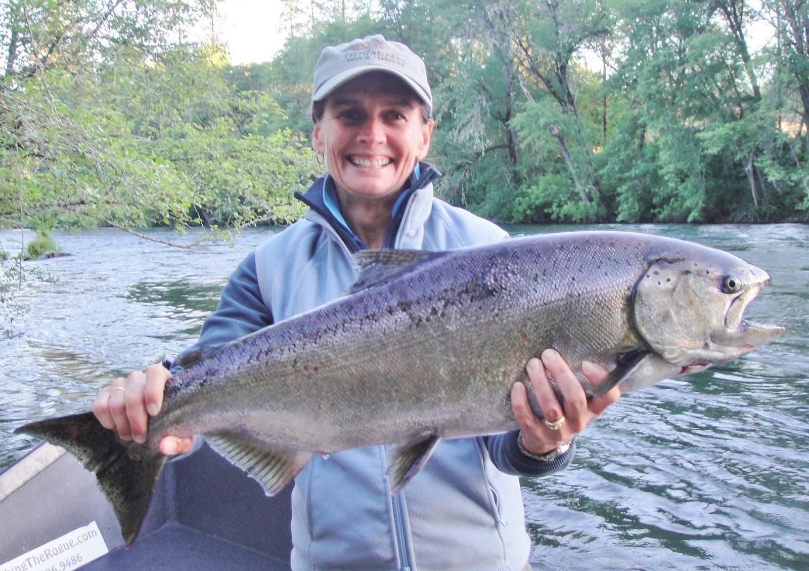 Oregon fishing guide rogue river salmon fishing fishing for Rogue river oregon fishing