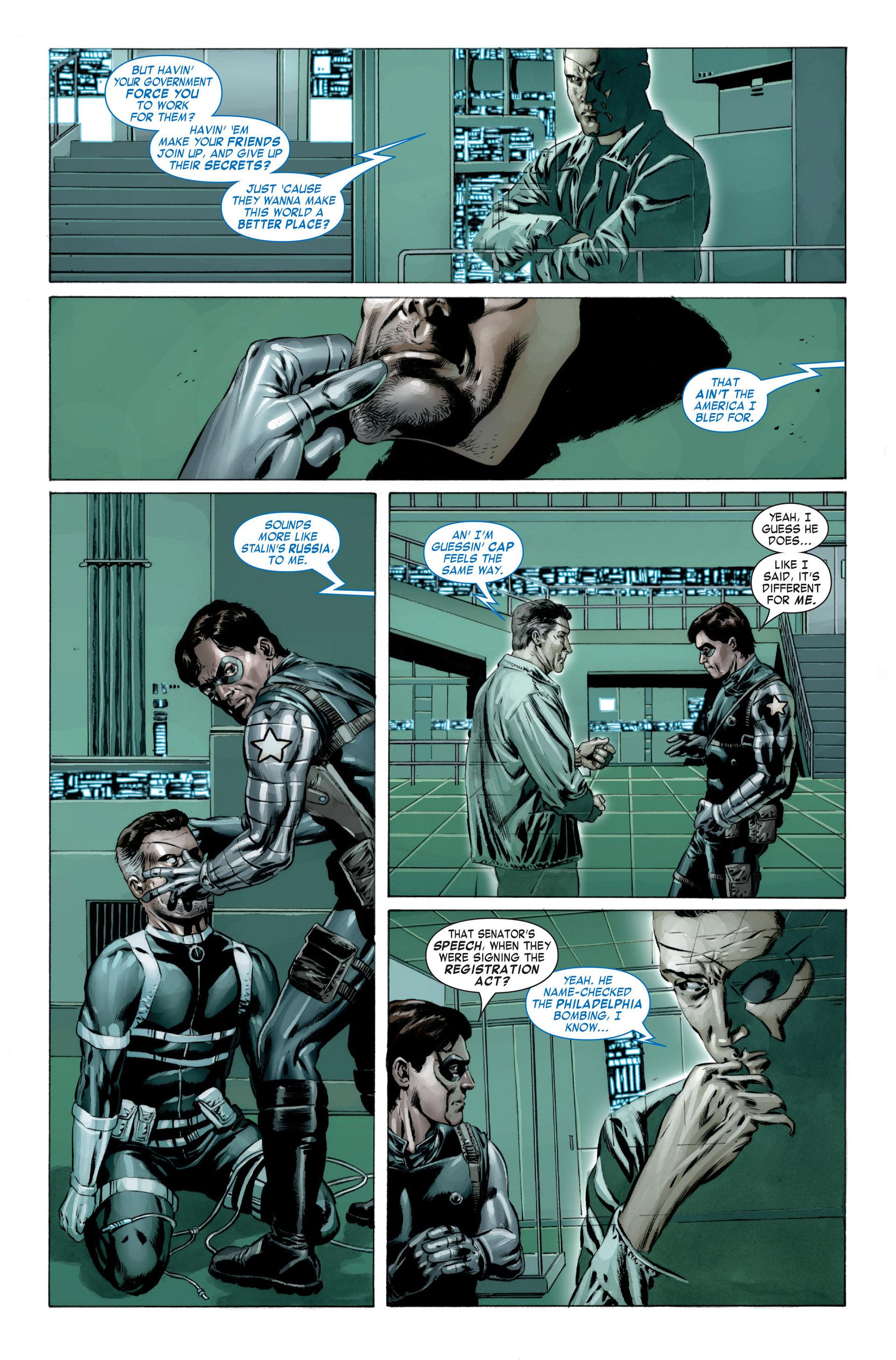Captain America (2005) Issue #23 #23 - English 11