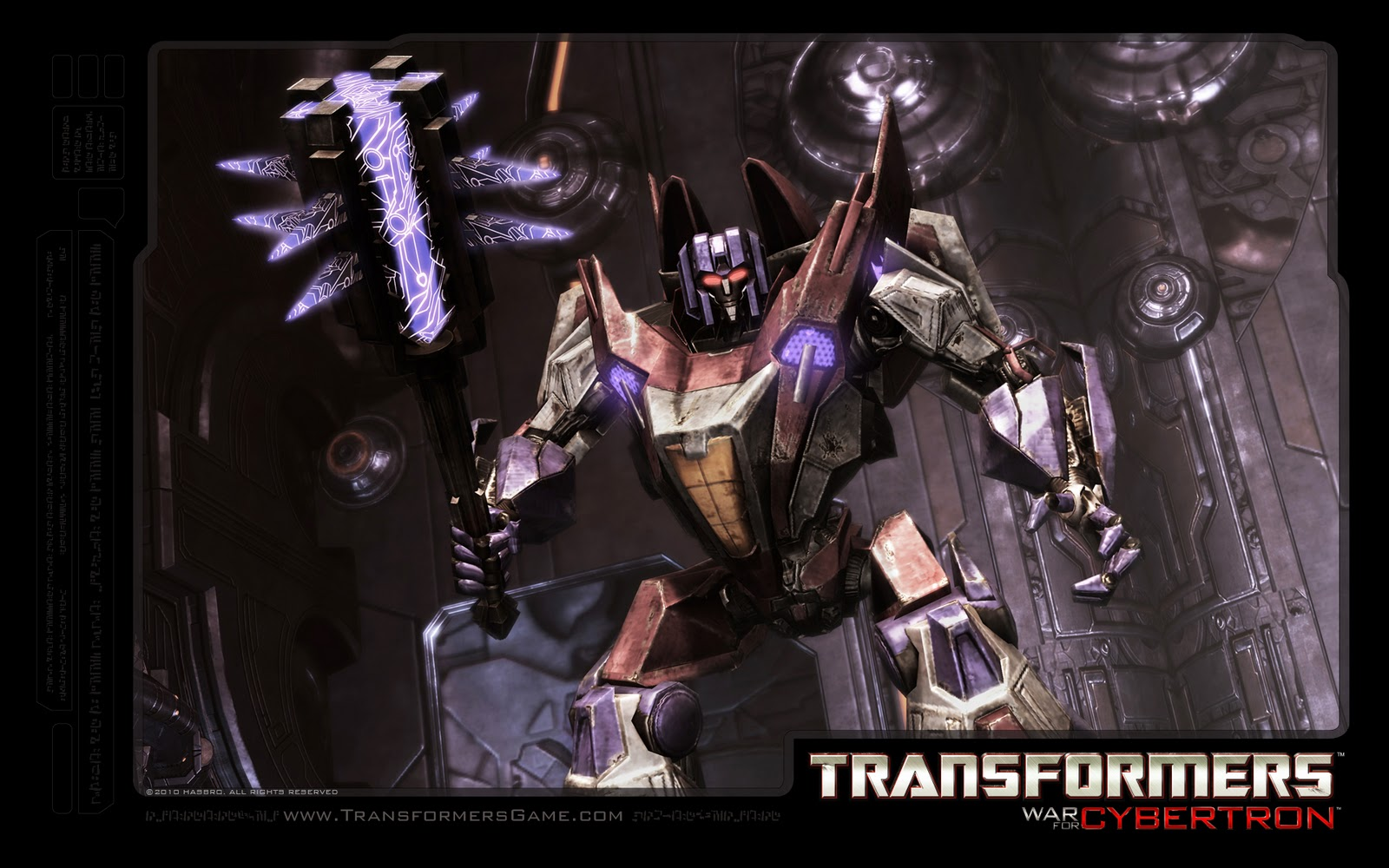 transformers matrix wallpapers: starscream war for cybertron 3d