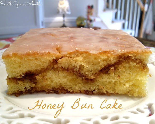 South Your Mouth: Honey Bun Cake