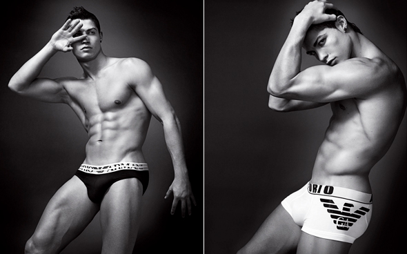 Christiano Ronaldo for Emporio Armani underwear