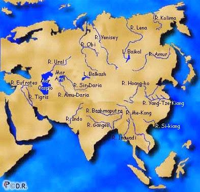 Major asian rivers