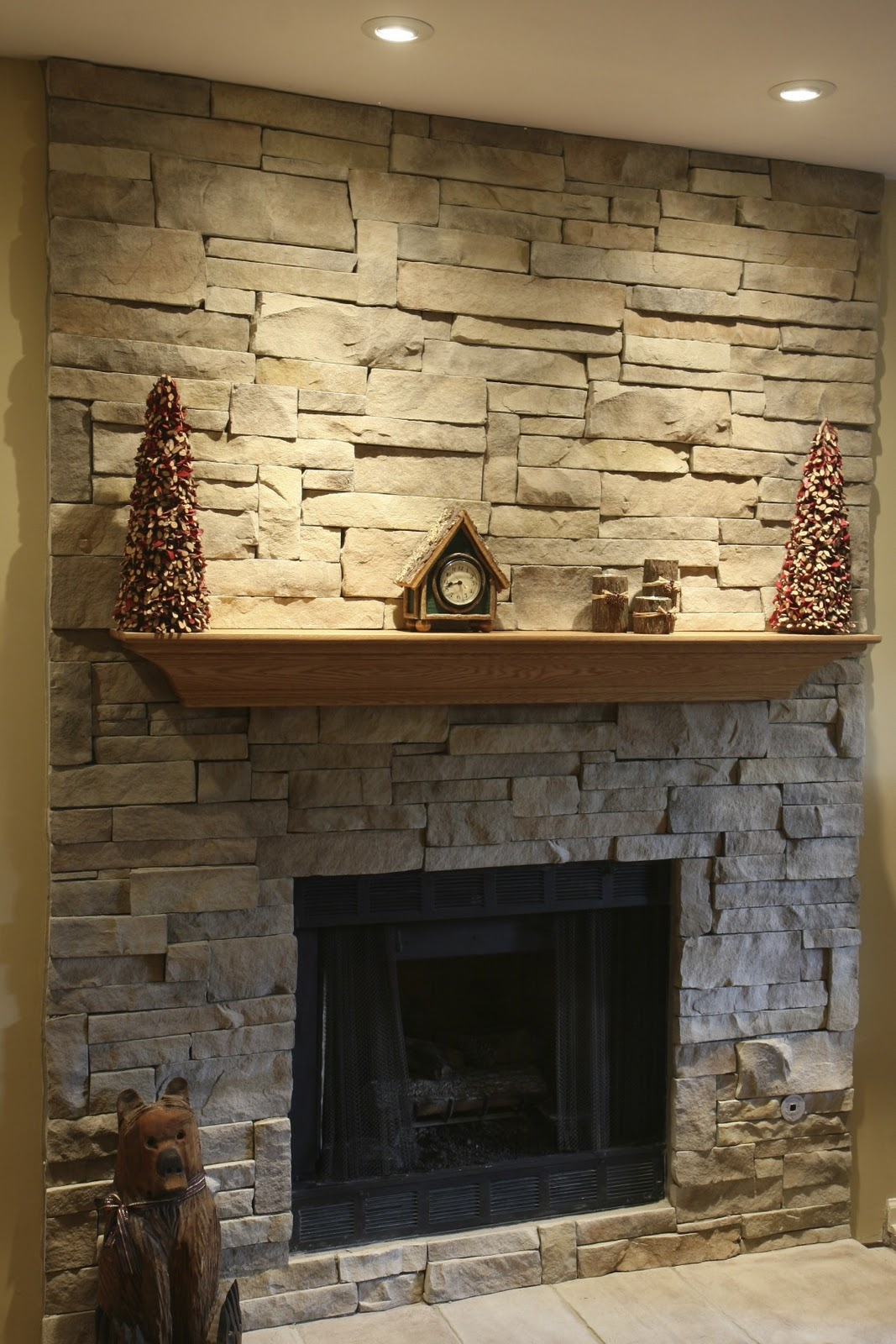 North star stone stone fireplaces stone exteriors ledge stone for your new stone fireplace - Images of stone fireplaces ...