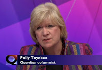 Polly Toynbee - Question TIme BBC1 Thursday May 26th