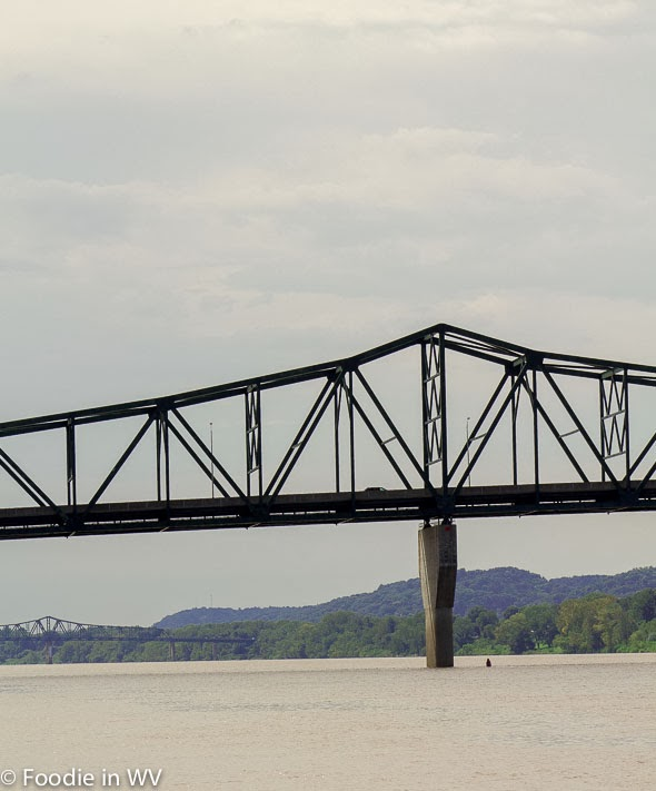 View from Harris Riverfront Park, Huntington, WV
