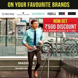 Trendin: Buy Clothing, Footwear and Accessories upto 50% off + Rs. 500 off at Rs. 1499 + 20% Cashback