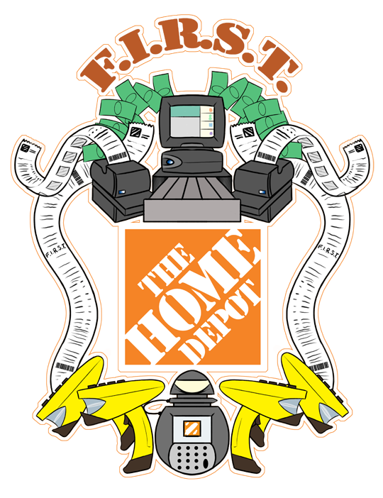 Great Home Depot Homer Logo 540 x 702 · 289 kB · png