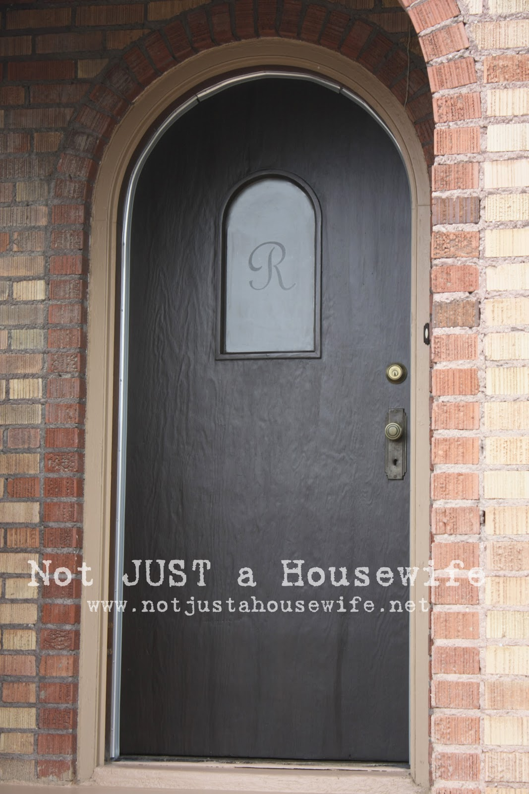 My front door before and after stacy risenmay do you know what else i love about my front door i have the original key and it works i framed it and put it on my side table in my front rubansaba