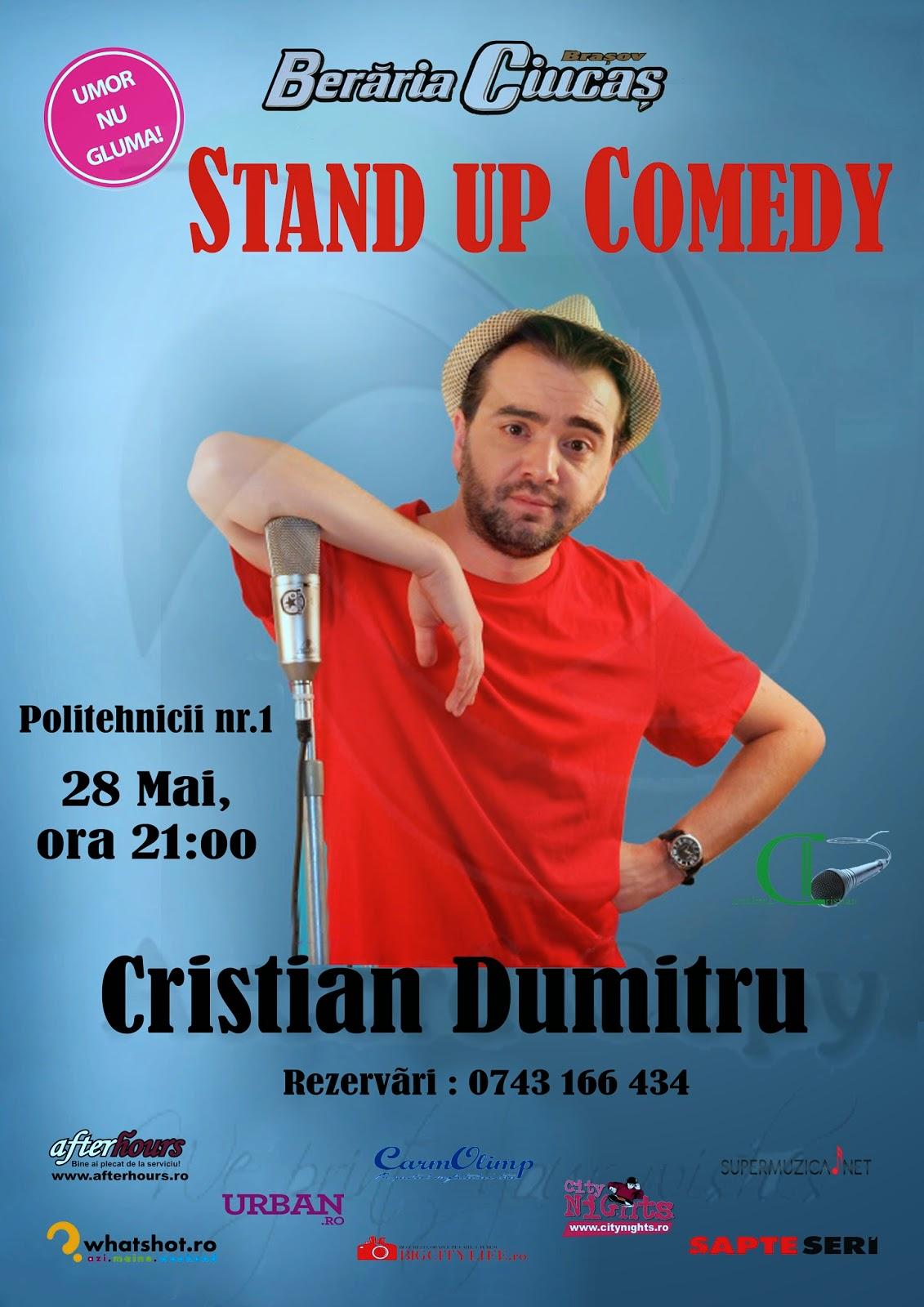 stand-up comedy brasov miercuri beraria ciucas