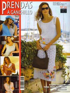Revista Prendas a Ganchillo №23 2005