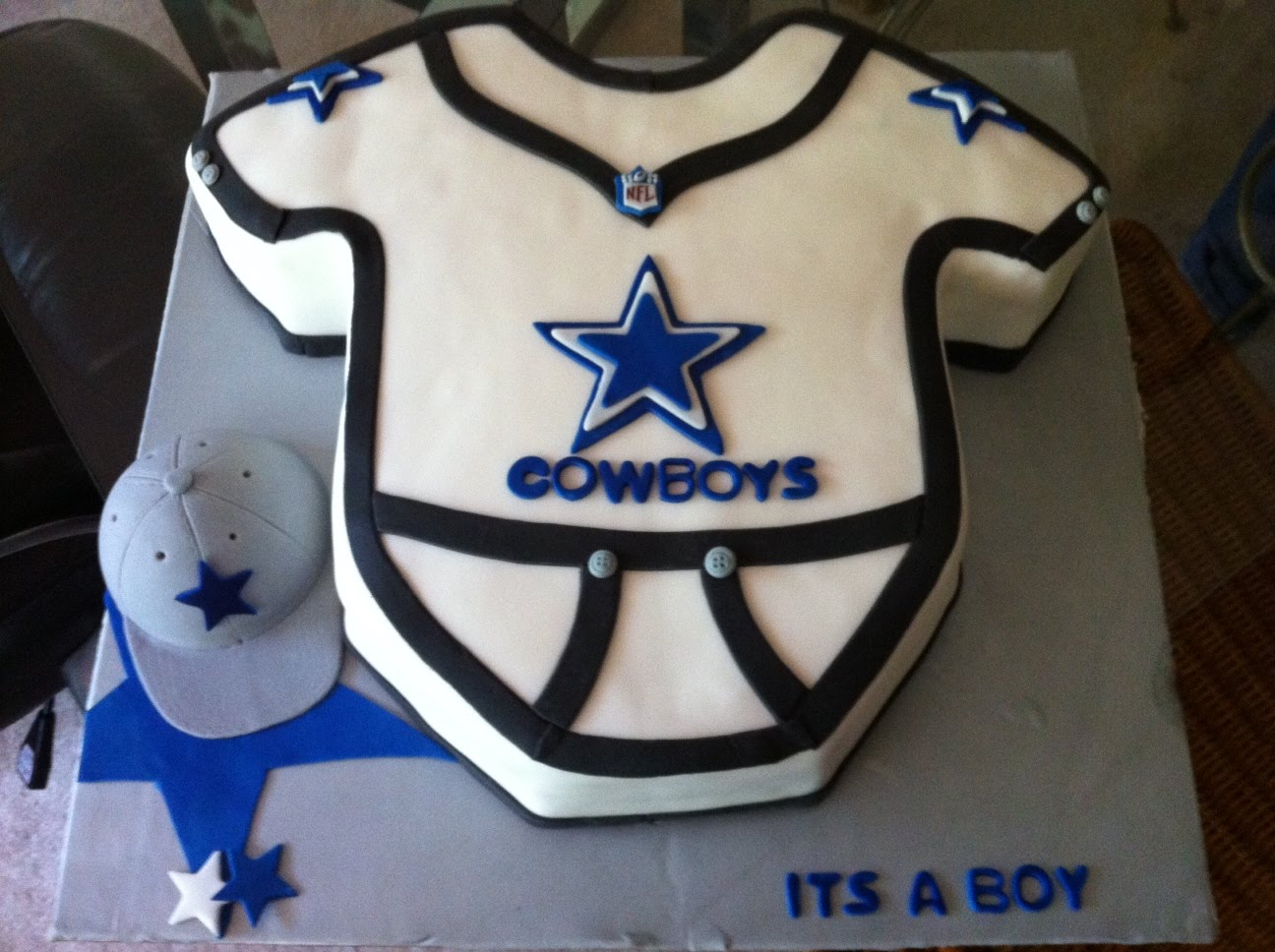 cakes by nancy dallas cowboy onesie