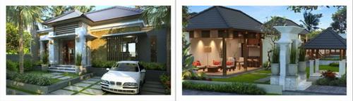 desain villa bali, type villa, desain rumah, property bali