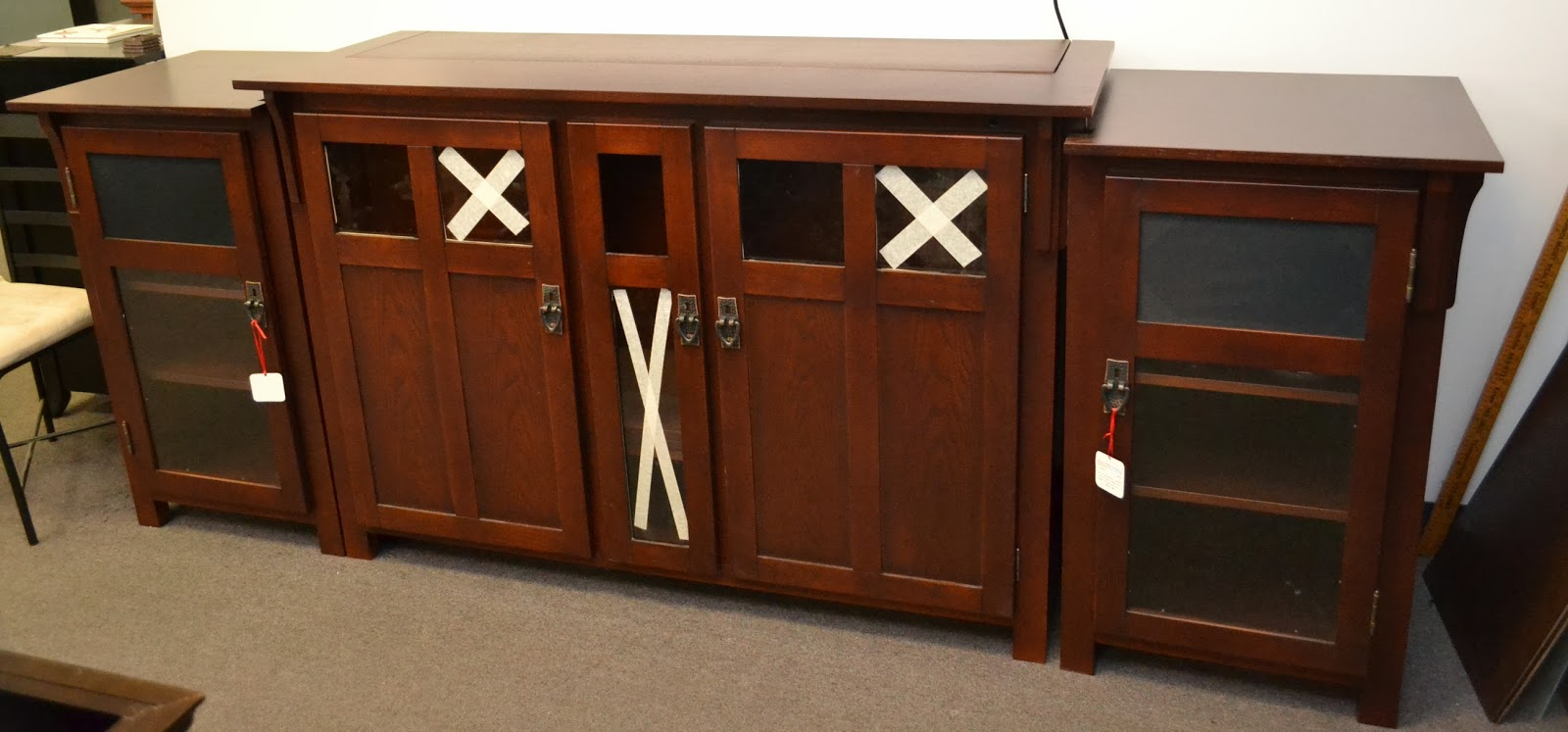 check out all of the unfinished and custom finished tv lift cabinets at wwwthpuscom