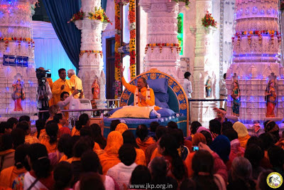 Prem Mandir Vrindavan anniversary with Kripalu Ji Maharajji