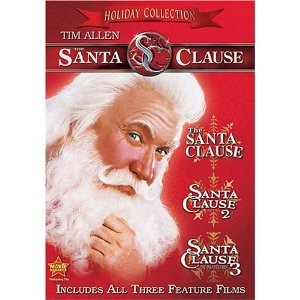 The Santa Clause three pack