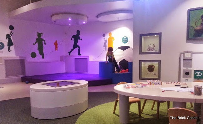 The National Football Museum at Urbis, Manchester under 5's room for relaxing and playing
